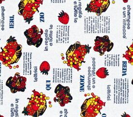 包装紙 フルーツ! モンブランフルーツ ハトロン半切 100枚