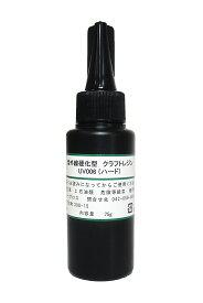 艶 LED&UVクラフトレジン液 【UV006 ハード】 75g