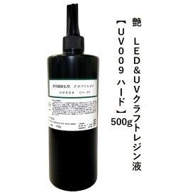 艶 LED&UVクラフトレジン液【UV009 ハード】 500g