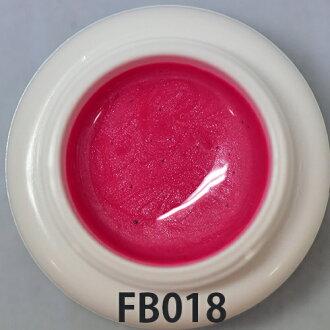 FB018 臨規格彩色凝膠顆粒珍珠洋紅色粉紅色大小︰ 3 G