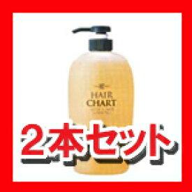 2本セット クラシエ ヘアーチャート フレッシュケア 700ml ×2 HCフレッシュケア プロ プロ用美容室専門店 カラーリング 業務用 つや髪美肌研究SHOP