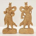 〜木彫り仏像仁王像(金剛力士)〜一刀彫/素材:香榧