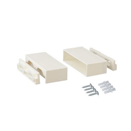 LABRICO(ラブリコ) 1×4棚受 オフホワイト 4x2.4x9.5cm DXO-22 1 セット