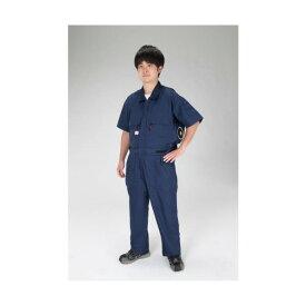 エスコ(esco) [M] 空調継ぎ作業服(送風ファン付/半袖ネイビー) EA996AM-101 1セット