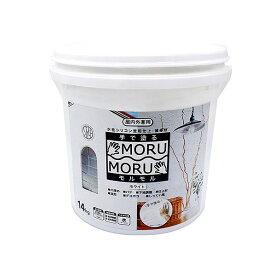 ニッペホーム 手で塗る塗料 STYLE MORUMORU(モルモル) ホワイト 1個