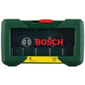 ボッシュ ルータービットセット 180x108x51mm PR-RB6 6本