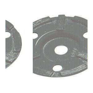 エビ ダイヤモンドカップホイール乾式高級品ダブルカップ 130 x 115 x 25 mm CD-4 1点