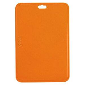 パール金属 カラーズ ちょっと大きめAg抗菌まな板 345×230×2mm オレンジ C-1664 1個