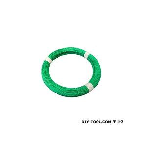 フジテック カラー針金 グリーン #14x10m 198869