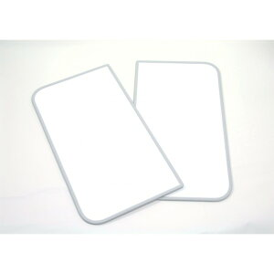 東プレ 風呂ふた 組み合わせ式 センセーション(2枚割) 68×98cm ホワイト/ホワイト U10 1個