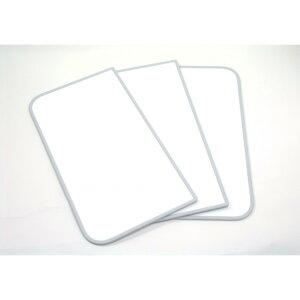 東プレ 風呂ふた 組み合わせ式 センセーション(3枚割) 73×118cm ホワイト/ホワイト L12 1個