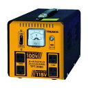 トラスコ(TRUSCO) ポータブルトランス30A3kVA降圧・昇圧兼用型 370 x 235 x 240 mm TPT-30BD 1