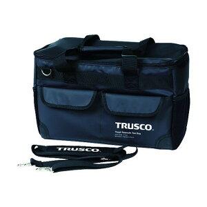 トラスコ(TRUSCO) TOUGHターポリンツールバッグ黒色 280 x 520 x 70 mm TTBA-BK 1