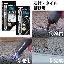 キャンディルデザインBLUFIXXスマートリペア石材・タイル用7gブラック37953500081個