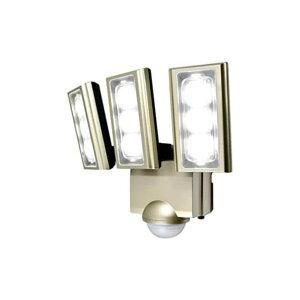 エルパ LEDセンサーライト コンセント式 3灯 ESL-ST12...
