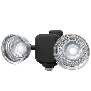 ムサシ 3.5W×2灯フリーアーム式LED乾電池センサーライト 293 x 149 x 150 mm LED-265