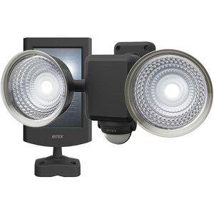 ムサシ 1.3W×2灯フリーアーム式LEDソーラーセンサーライト 255 x 168 x 148 mm 3-8149-02 1台