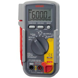 SANWA デジタルマルチメータ CD732 1台
