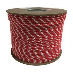 ユタカアクリル紅白ロープ6mm×200m231x230x179mmPRZ10