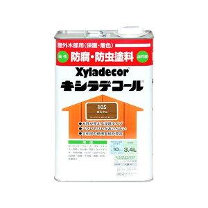 カンペハピオ キシラデコール 3.4L カスタニ 1缶