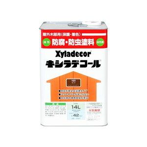 カンペハピオ キシラデコール 14L チーク 1缶