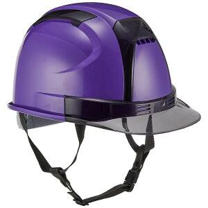 トーヨーセフティ トーヨーセフティ ヘルメット ヴェンティー 紫 NO.390F-OTSS-V ヘルメット・軽作業帽 1点