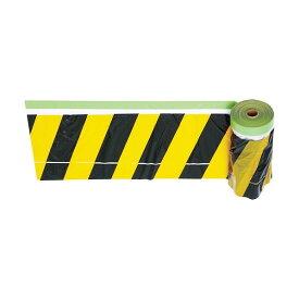 トラスコ(TRUSCO) 安全標示フィルム付き粘着テープ黄/黒 220 x 120 x 124 mm THMT-1 1点