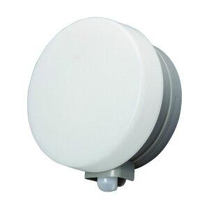 IRIS 乾電池式LEDセンサーライトウォールタイプ丸型電球色 240 x 102 x 280 mm BOS-WL1M-WS 1点