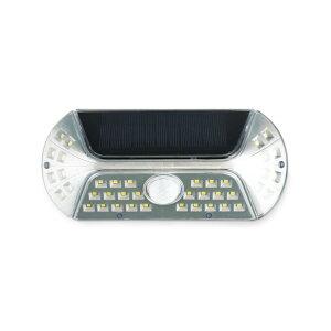 VIGIL(ビジル) ソラー人感センサーライト Silver KL-10379 1個