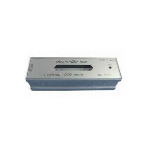 大菱計器製作所 平形水準器 工作用/AD152 HL0.05-150 1個