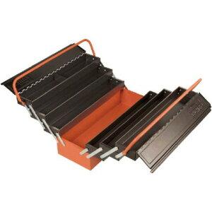 バーコ 7トレー付きメタルボックス 560 x 220 x 280 mm 1497MBF750