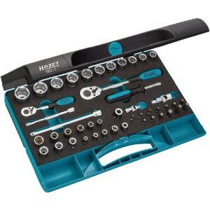 HAZET ソケットレンチセット(差込角9.5mm)スマートケース入り 882-1 1S