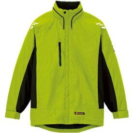 アイトス 光電子軽防寒ジャケット ライムグリーン L AZ-6169-035-L