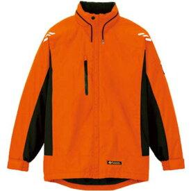 アイトス 光電子軽防寒ジャケット オレンジ LL AZ-6169-063-LL