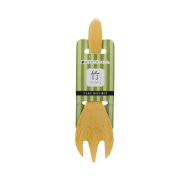 高儀 炭化竹 取り分けフォーク (W)85×(H)245×(D)20mm