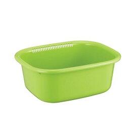 洗い桶 (角型) ポゼ グリーン