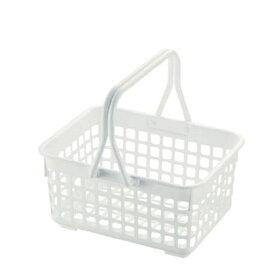 リッチェル お風呂かご シンプルイズム ハンディバスケット ホワイト