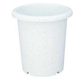 植木鉢 長鉢 6号 ホワイト