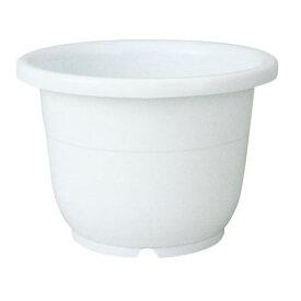 植木鉢 輪鉢 6号 ホワイト