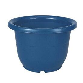 植木鉢 輪鉢 8号 ブルー