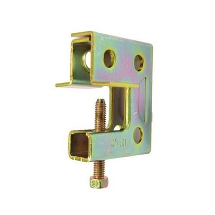 ネグロス電工 吊り金具一般形鋼・リップみぞ形鋼用 HB1U 長さ(mm):71.幅(mm):60.高さ(mm):21.5 HB1U