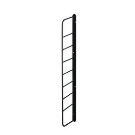 Weekend Workshop シェルフフレーム4 黒 幅2cm×奥行11.5cm×高さ57cm WFK-54 1個