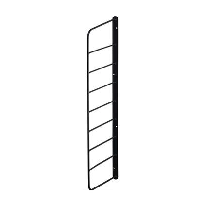 Weekend Workshop シェルフフレーム6 黒 幅2cm×奥行16.5cm×高さ57cm WFK-56 1 個
