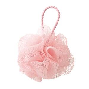 MARNA(マーナ) 泡立てネット シャボンボール ミニ プティ・クルジール ピンク 約直径6cm