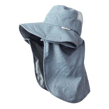 monkuwa デニム帽子 07サックス フリー MK36115