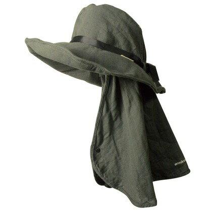 monkuwa Wガーゼ帽子 14チャコール フリー MK36117