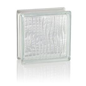 LUMINO GLASS ガラスブロック クリアーシリーズI クリスタルクリアー トランク クリアー透明 191908/H 1個