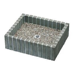 WATER POT フレウスパン ストーンブリック スレートブラック W470×H140×D390mm 601011110