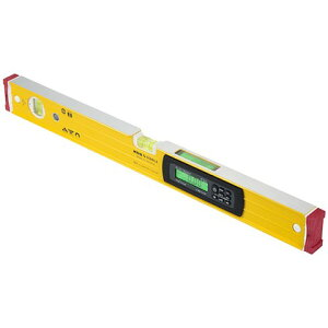 ムラテックKDS マグネット付防塵・防滴デジタル水平器60IP 684 x 98 x 60 mm DL-60MIP 1