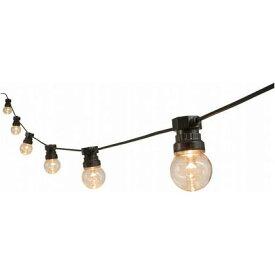 LED GARDEN ローボルト ストリングパーティーライト 10球(電球色) 全長7m LGL-SP10